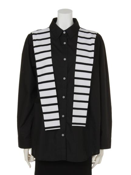 soobinie (スビニエ) スタイリッシュシャツ ブラック