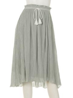 Marbleeアコーディオンプリーツスカート