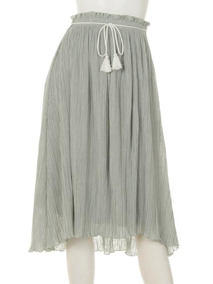 Marblee (マーブリー) Marbleeアコーディオンプリーツスカート ミント