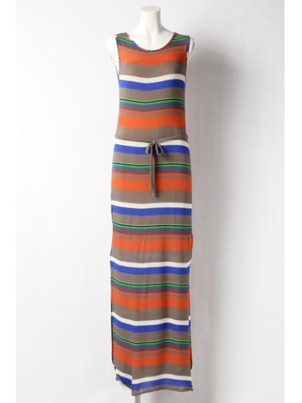 PAOLA FRANI (パオラフラーニ) ドレス ボーダーマルチ