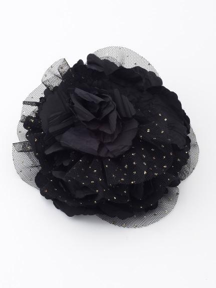 Dorry Doll (ドリードール) フラワーコサージュ ブラック