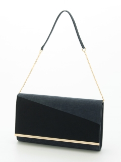 異素材切替プレートバッグ