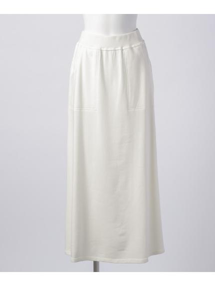 ARROW (アロー) ロングスカート ホワイト
