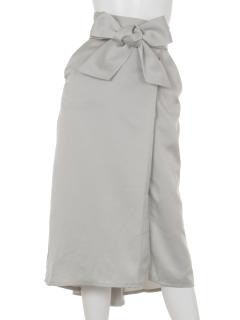 【QUINOA】サテンタイトスカート