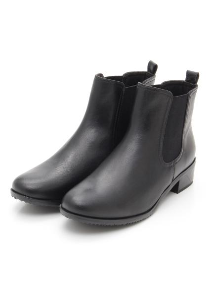 55%OFF periwinkle (ペリウィンクル) サイドゴアトラッドブーツ ブラック