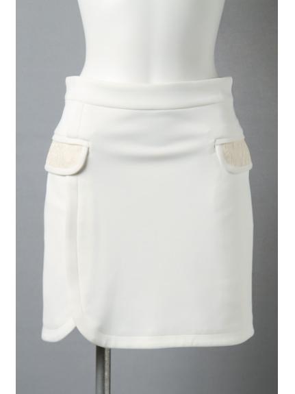 BLONDY ReLISH (ブロンディリリッシュ) フラップポケットスカート WH