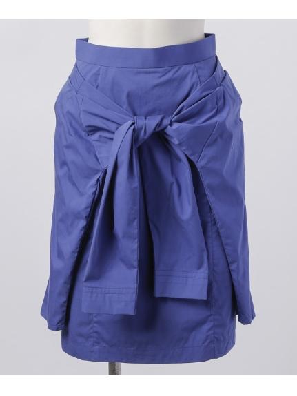 iriiri (イリイリ) LAYERED STYLE スカート ブルー