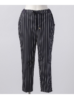 STRIPE TAPERED EASY パンツ