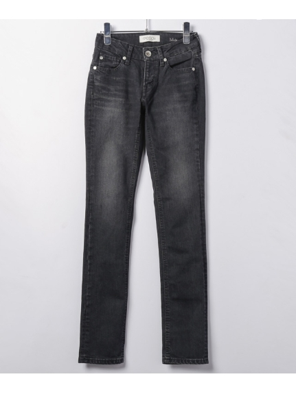 SASSON (サッソン) TIGHT STRAIGHT PANTS グレー