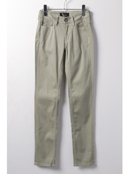SASSON (サッソン) TIGHT STRAIGHT PANTS(MISTY) オリーブ