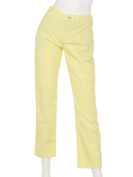 74%OFF YANUK (ヤヌーク) BOYS CROPPERD TROUSERS イエロー