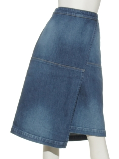 SEASONWRAPSKIRT-DENIM