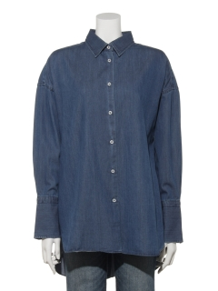 BACKBUTTONSHIRTDENIM