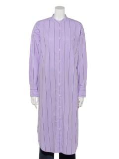 Long Shirt Dress Stripe
