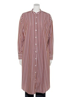 Long Shirt Dress Stripe