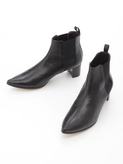 BINOCHE (ビノシュ) (日本製)ショートブーツ ブラック