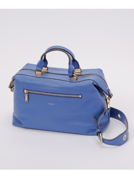 TUSCAN S (タスカンズ) サッチェルバッグ Blue