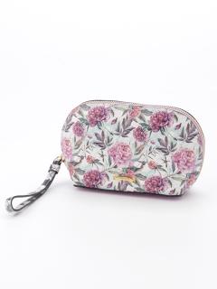 PouchWhite/Floral