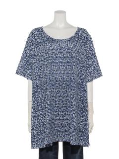 ハートプリントロングTシャツ