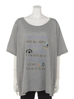 刺しゅう&プリントTシャツ