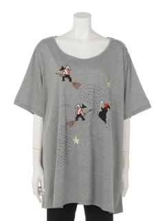 刺しゅう&ビーズTシャツ