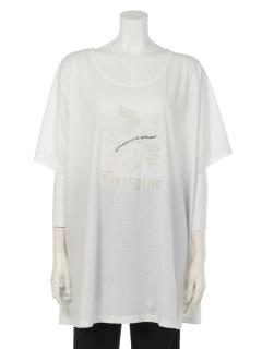 ユニコーン刺しゅうTシャツ