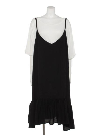 75%OFF Tasha ruby (ターシャルビー) Tシャツ&キャミワンピースセット ブラック