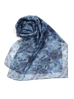 オールドフラワー柄ロングスカーフ