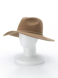 金具付フェルト中折れツバ広HAT