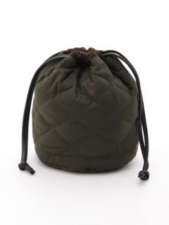 【HALIN】Quilting Drawstring Bag