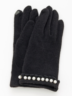 パール&フリル付キ手袋