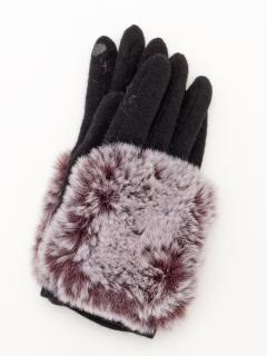幅広MIXエコファー手袋