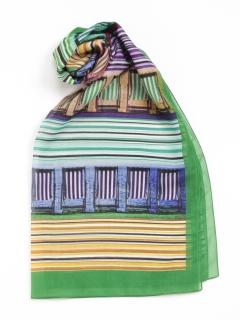 ビーチチェアロングスカーフ