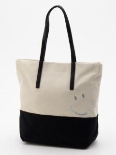 SMILEY/キャンバスプリントトートバッグ