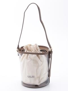 【HALIN】バケツガタクリアショルダーバッグ