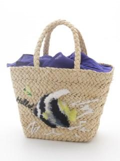 サカナ柄刺繍トートバッグ