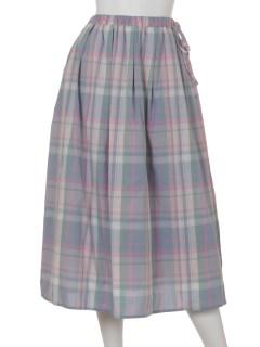 先染めギャザースカート