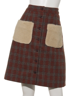ボアポケットスカート