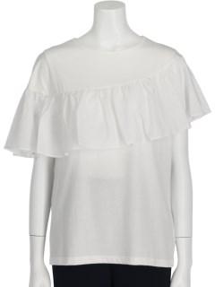 フレア切替Tシャツ