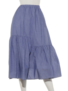 たっぷりギャザースカート