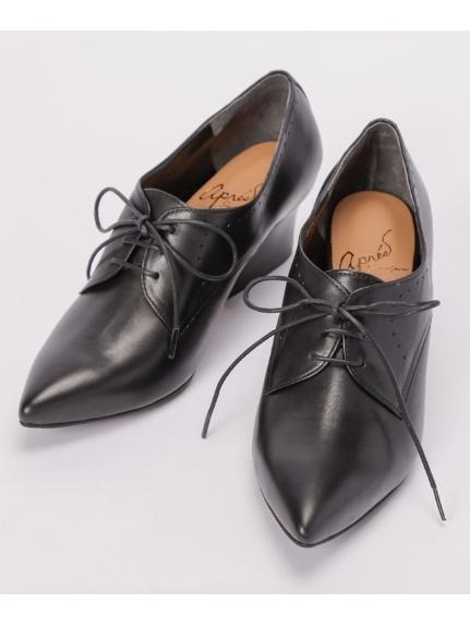 apres by cavacava (アプレバイサヴァサヴァ) 紐靴 ブラック