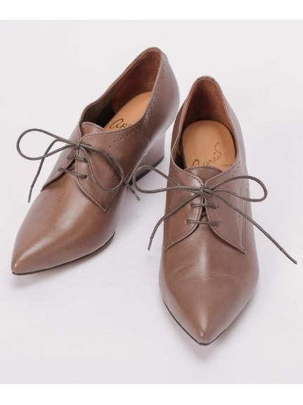 apres by cavacava (アプレバイサヴァサヴァ) 紐靴 グレー