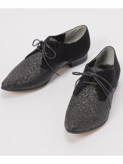 ポインテッド紐靴