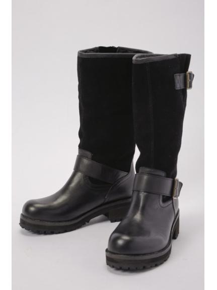 あしながおじさん (アシナガオジサン) ブーツ ブラック