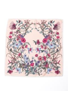 花柄スカーフ