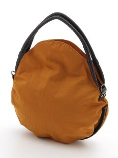 ラムレザーハンドル防水ナイロントートバッグ