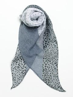 水玉&豹柄スカーフ