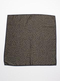 豹柄スカーフ