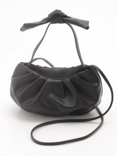 エコレザーシャーリング2WAYバッグ