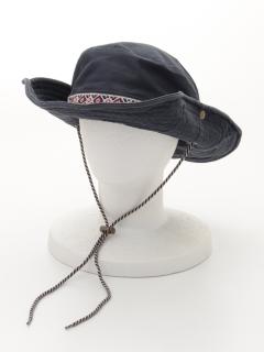 綿洗いワイヤードット帽